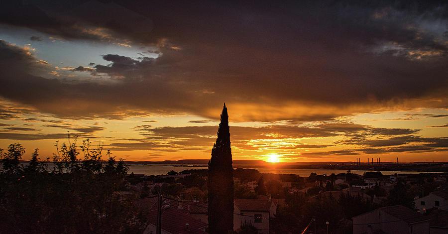 Mediterranean Sunset by Portia Olaughlin