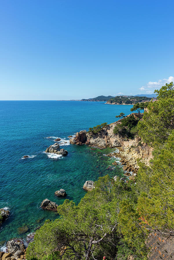 Lloret Photograph - Mediterranean Views From The Cami De Ronda by Vicen Photography