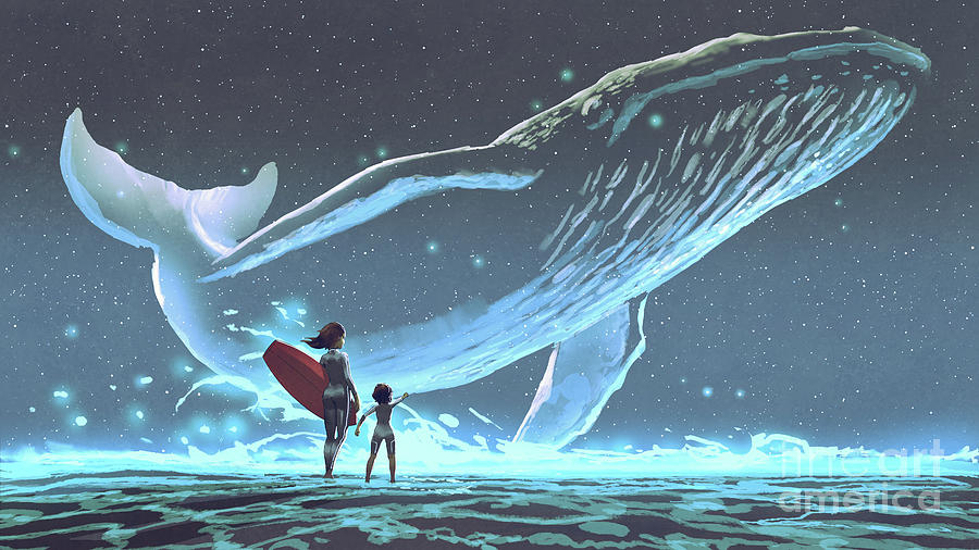 Meet The Legendary Whale Painting