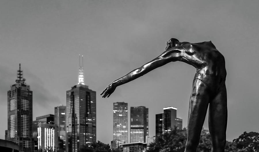 Melbourne Australia Photograph - Melbourne Ballerina  by Leigh Henningham