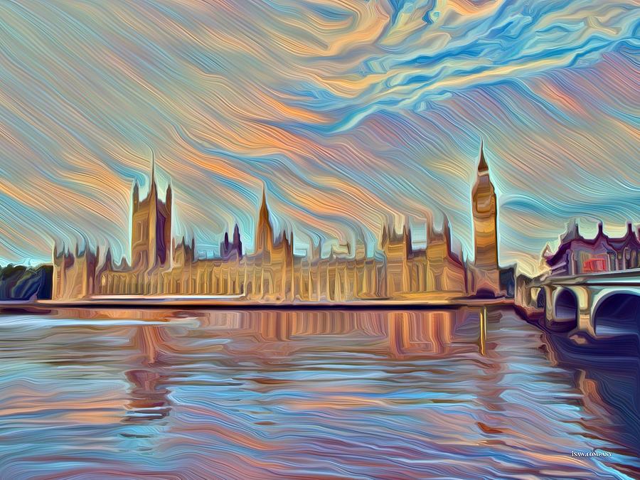 Mellow London Digital Art