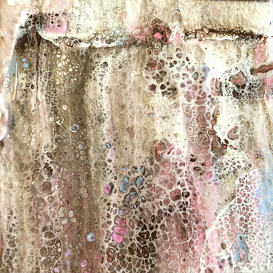 Acrylic Photograph - Melted by Teresa Wilson