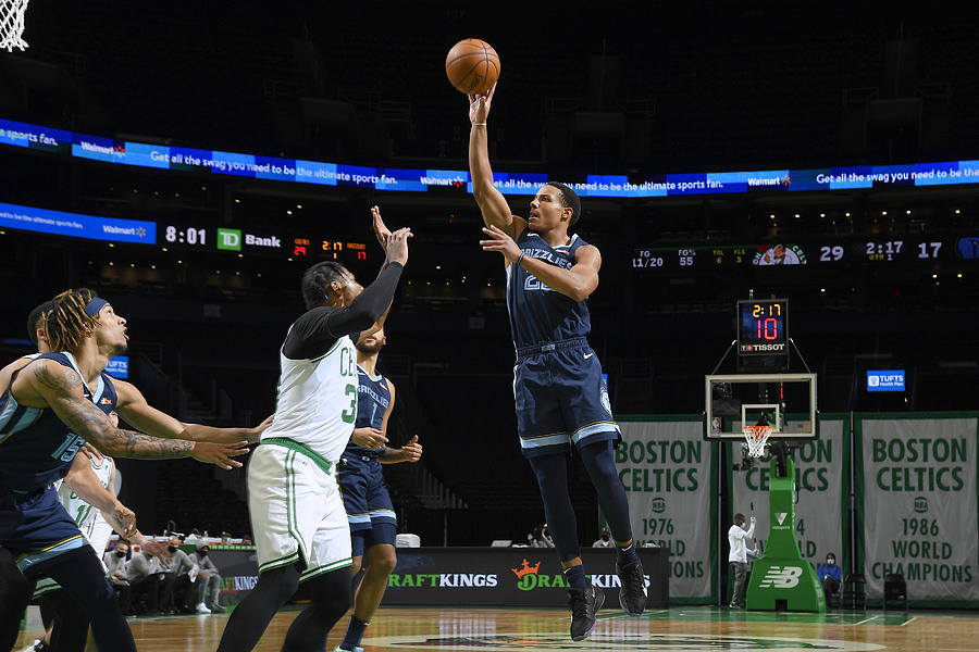 Memphis Grizzlies v Boston Celtics Photograph by Brian Babineau