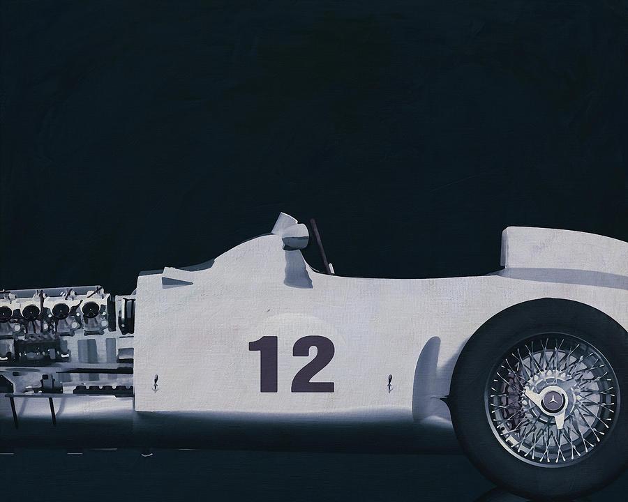 Mercedes W196 Silver Arrow 1954 by Jan Keteleer