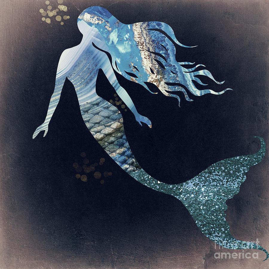 Mermaid II Painting