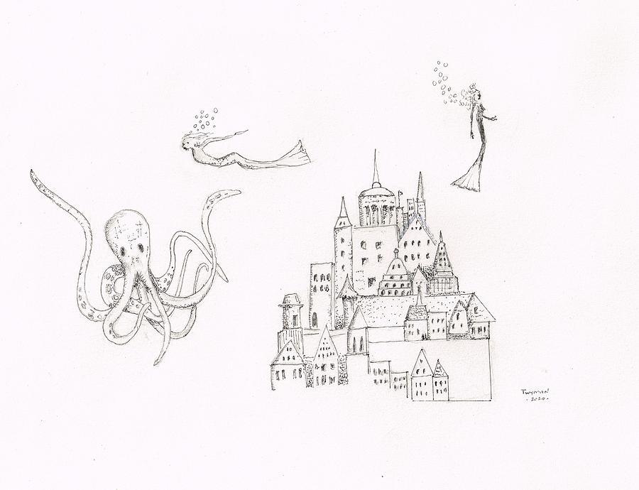 Mermaids Drawing