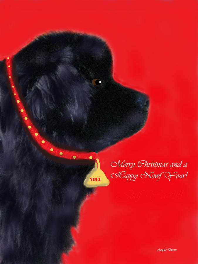 Merry Christmas and a Happy Newf Year by Angela Davies