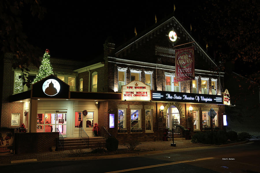 Merry Christmas Barter Theatre by Dale R Carlson