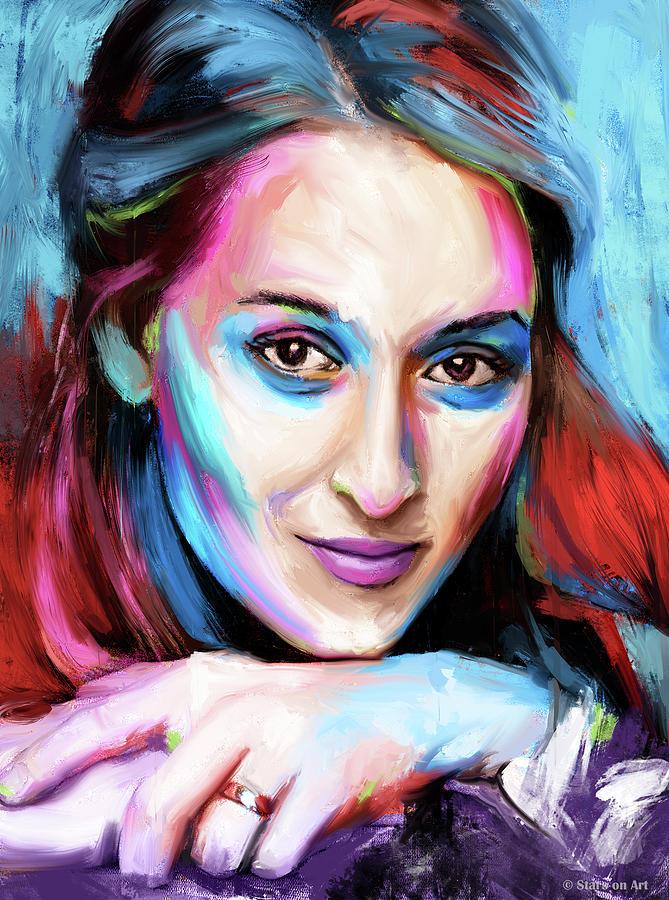Meryl Streep Painting By Stars On Art