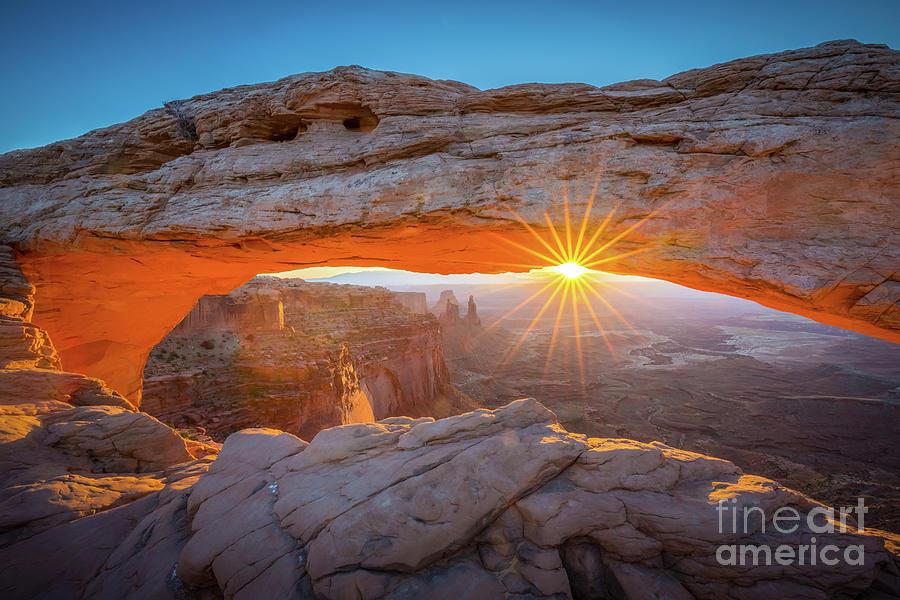 Mesa Arch Dawn Photograph