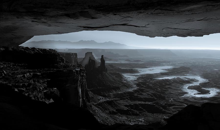 Mesa Arch Photograph - Mesa Arch by Paul Malen
