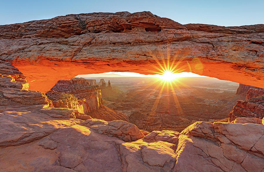 Mesa Arch Sunrise Canyonlands National Park Photograph By Rob Brown