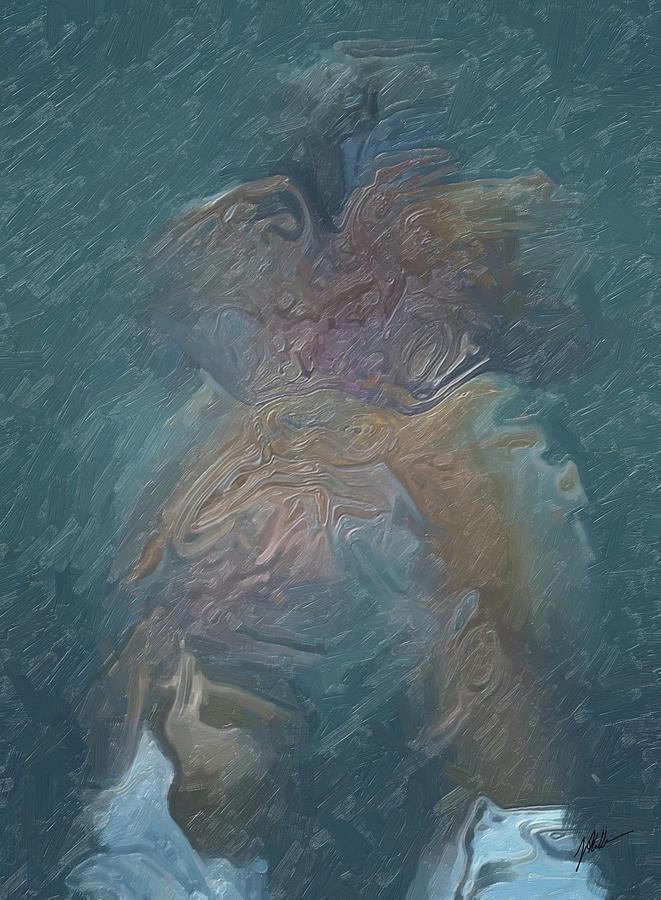 Messalina Reflected Digital Art