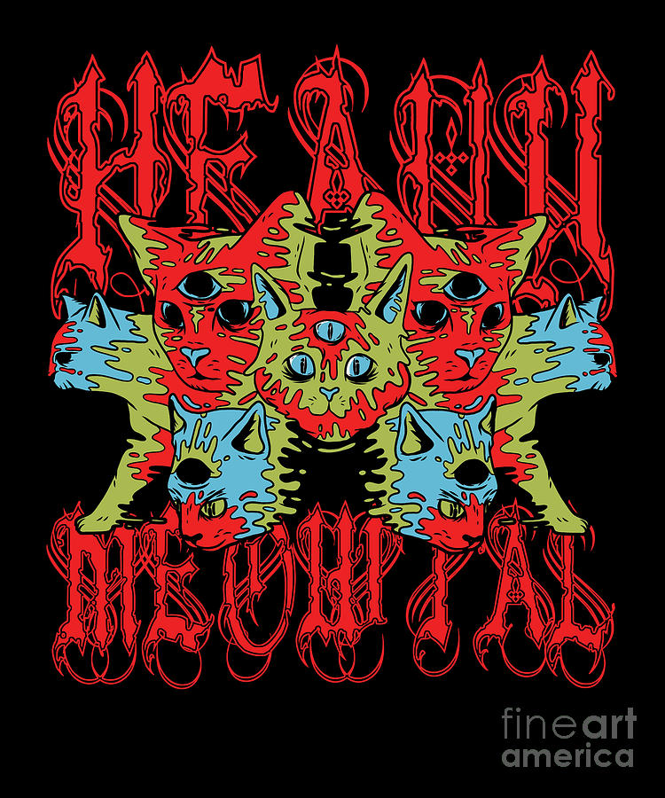 Metalcore Heavy Metal Hard Rock Funk Band Gift Heavy ...