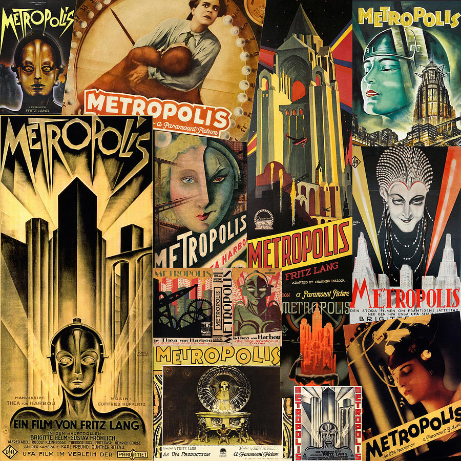 Metropolis by Andrew Fare