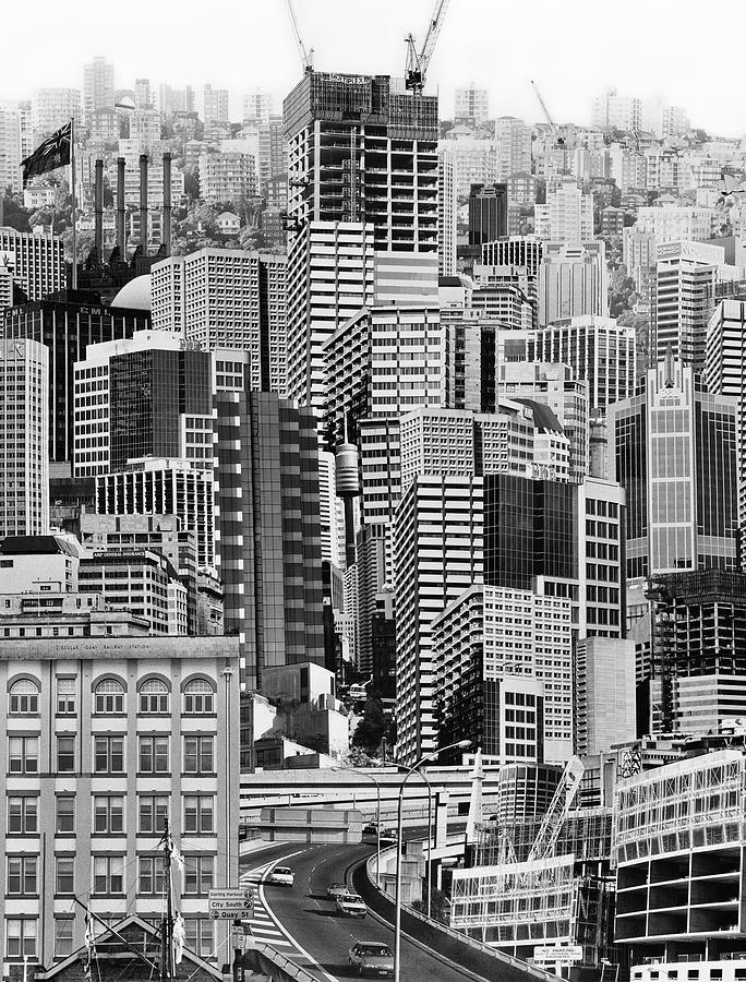 Metropolis Photograph - Metropolis by Siene Browne