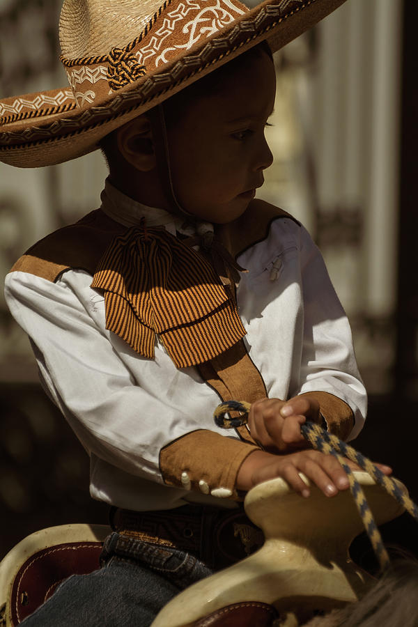 Cowboy Photograph - Mexican Cowboy on Revolution Day by Dane Strom