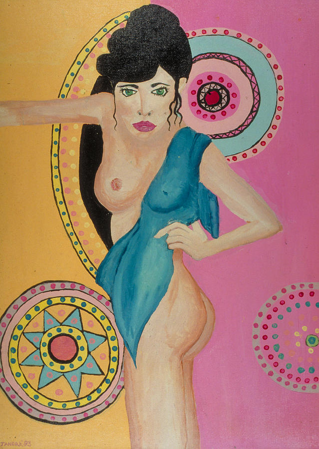 Nude Painting - Mexican Nights -Too by J Andrel