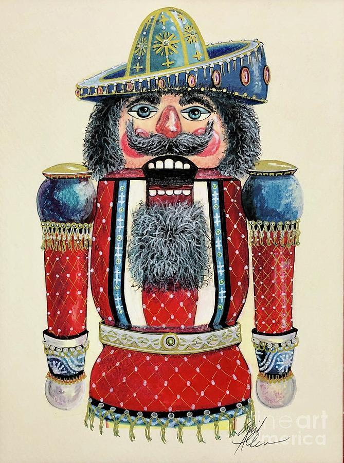 Mexican Nutcracker 1 by Gail Allen