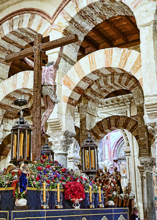 Mezquita De Cordoba 2 Photograph