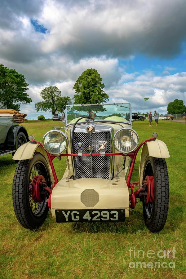 MG Midget 1933  by Adrian Evans