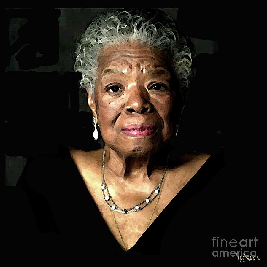 Maya Angelou by Walter Neal