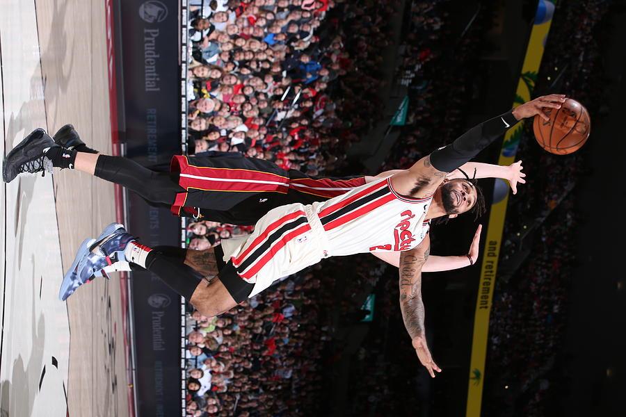 Miami Heat v Portland Trail Blazers Photograph by Sam Forencich