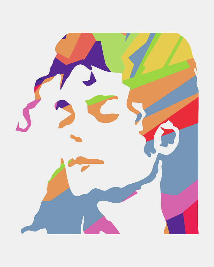 Michael Jackson Digital Art - Michael Jackson 3 POP ART by Ahmad Nusyirwan