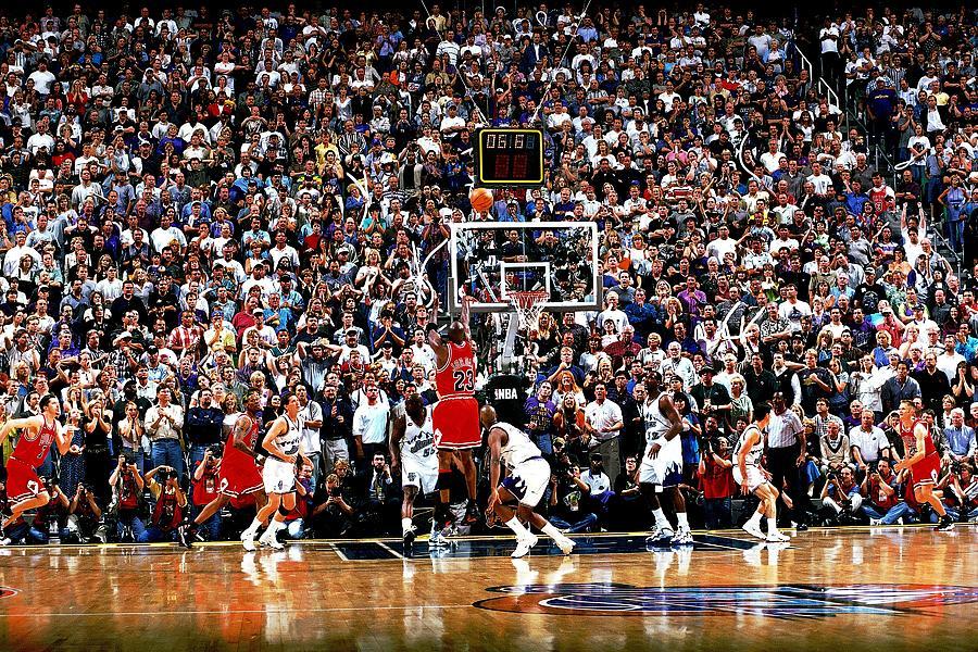 Michael Jordan Photograph by Fernando Medina