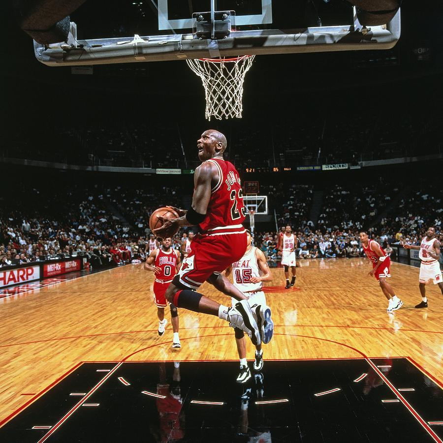 Michael Jordan Photograph by Nba Photos