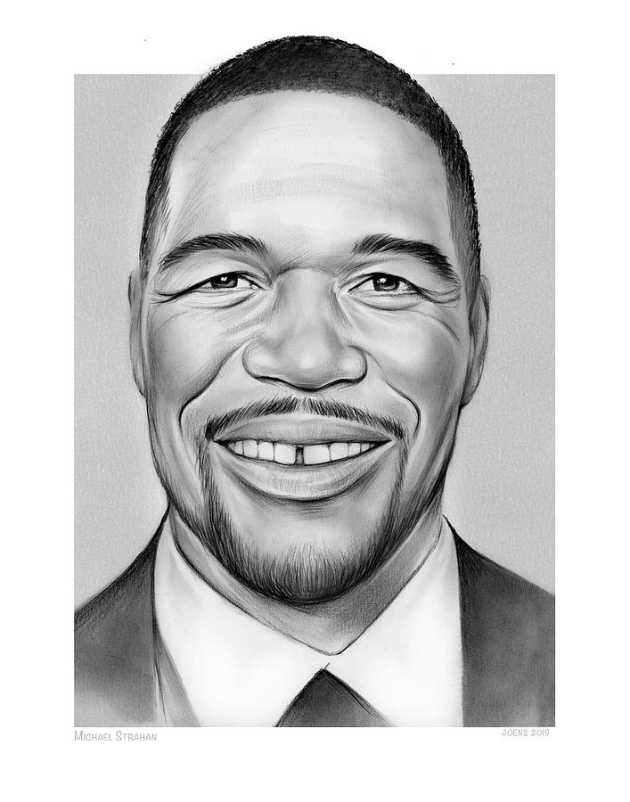 Michael Strahan by Greg Joens