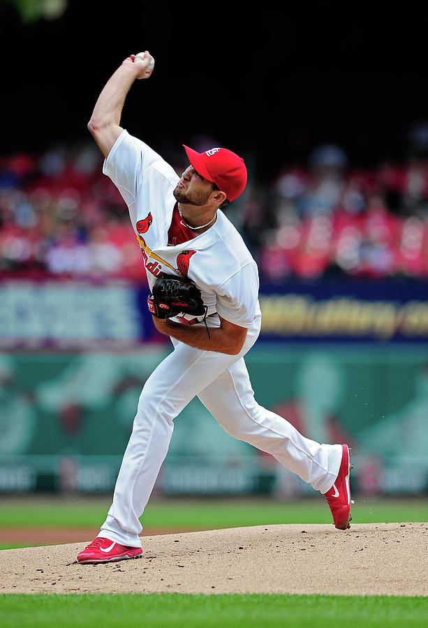 Michael Wacha Photograph by Jeff Curry