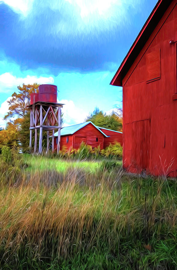 Michigan Farm by Tom Singleton