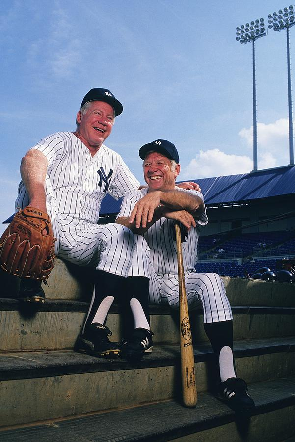 Mickey Mantle And Whitey Ford Photograph by Ronald C. Modra/sports Imagery