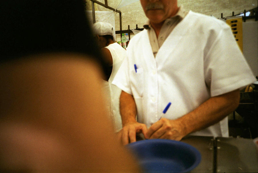 Mid-Section Of Man With Mustache Writing In Restaurant Photograph by Willie Schumann / EyeEm