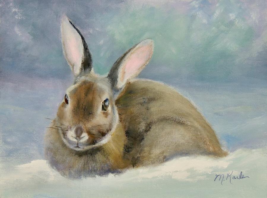 Mid-Winter Bunny by Marsha Karle