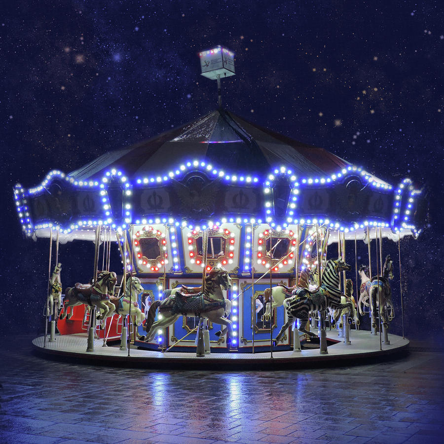 Midnight Carousel by Sally Banfill