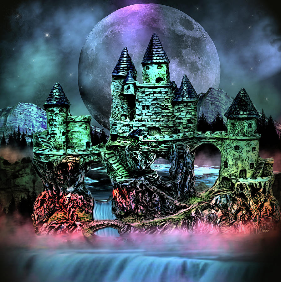 Midnight Castle by Artful Oasis