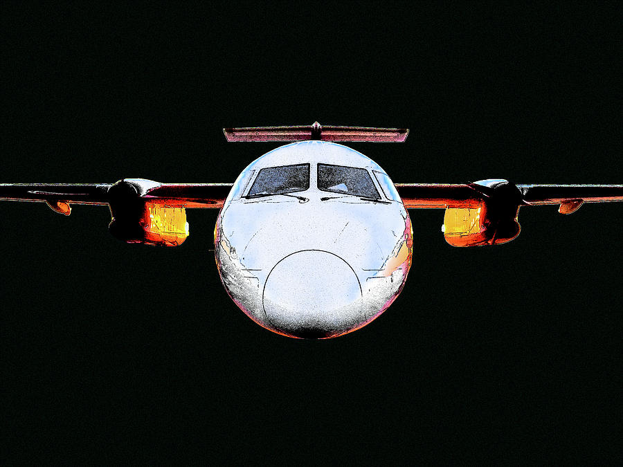 Mighty And Awesome Dash 8 300 Photograph