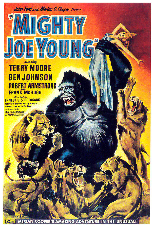 mighty Joe Young Movie Poster 1949 Mixed Media
