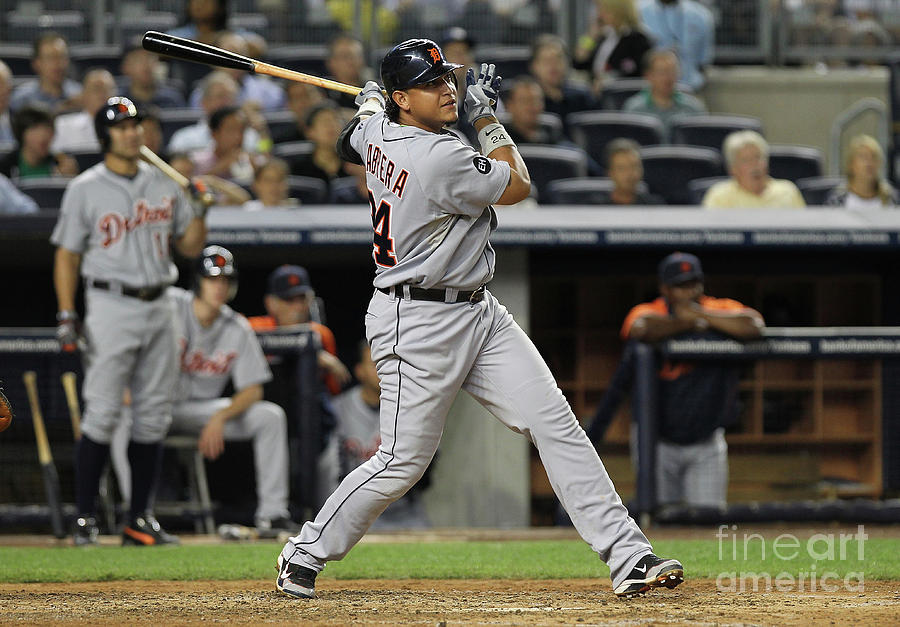 Miguel Cabrera Photograph by Nick Laham