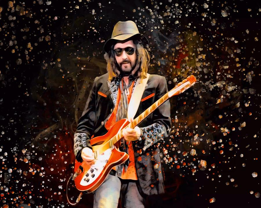 Mike Digital Art - Mike Campbell  by Scott Wallace Digital Designs