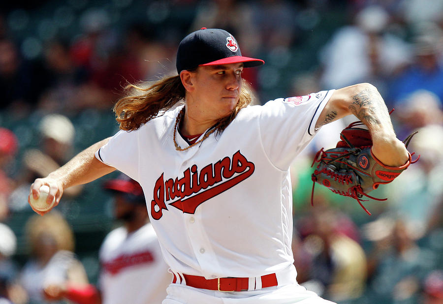Mike Clevinger Photograph by David Maxwell