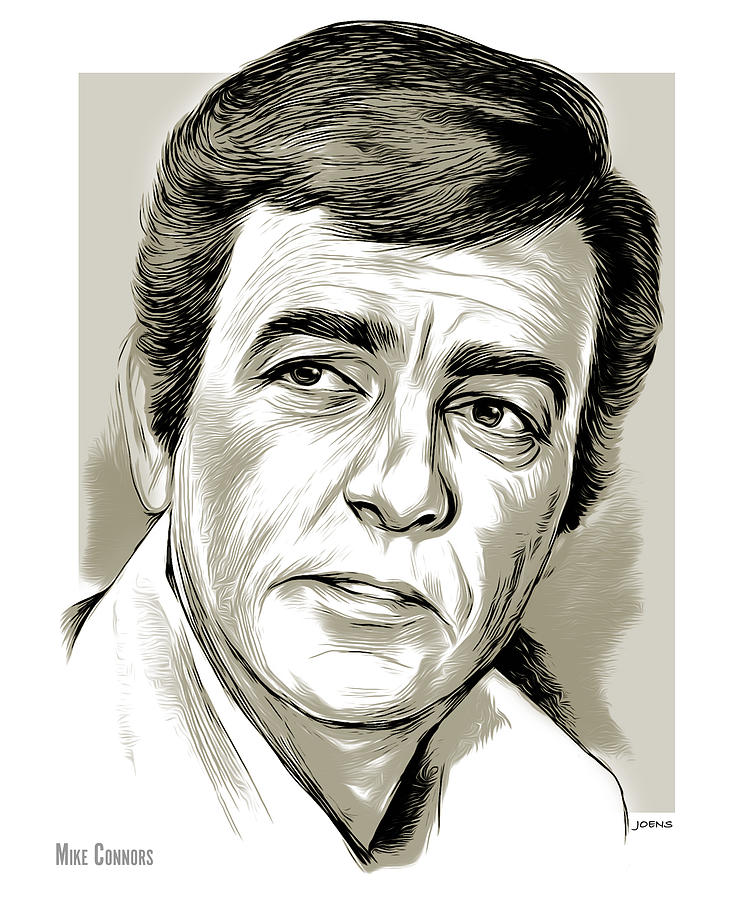 American Drawing - Mike Connors - line art by Greg Joens