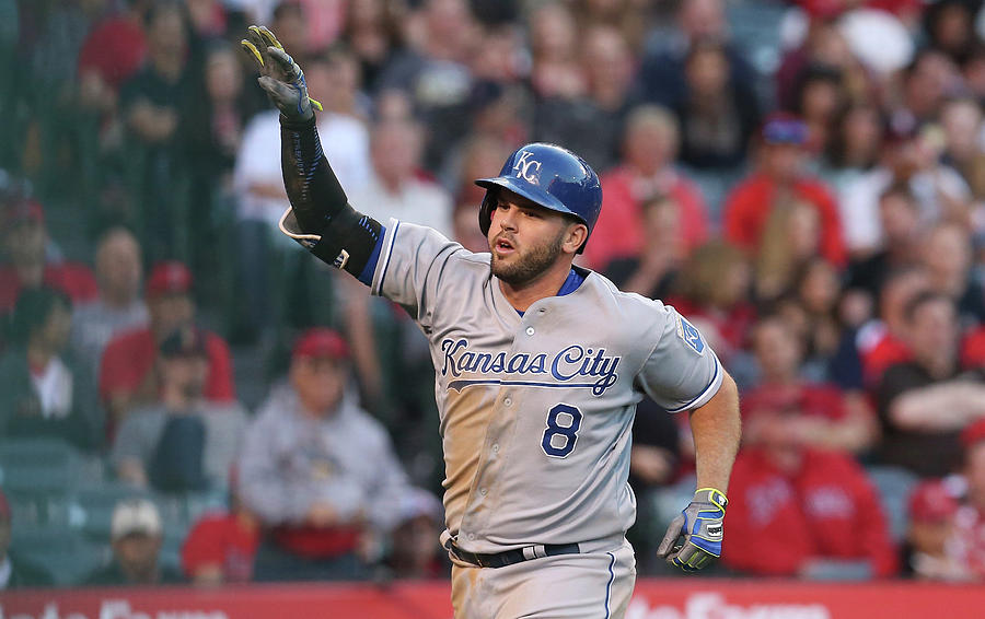 Mike Moustakas Photograph by Stephen Dunn