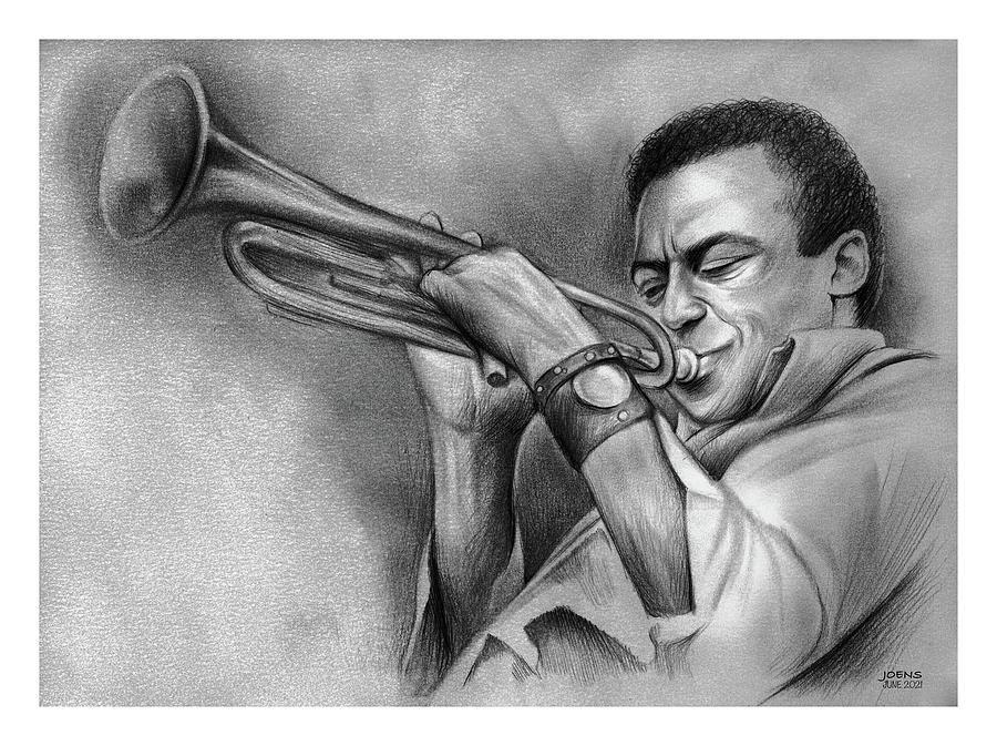 Miles Davis - Pencil Drawing