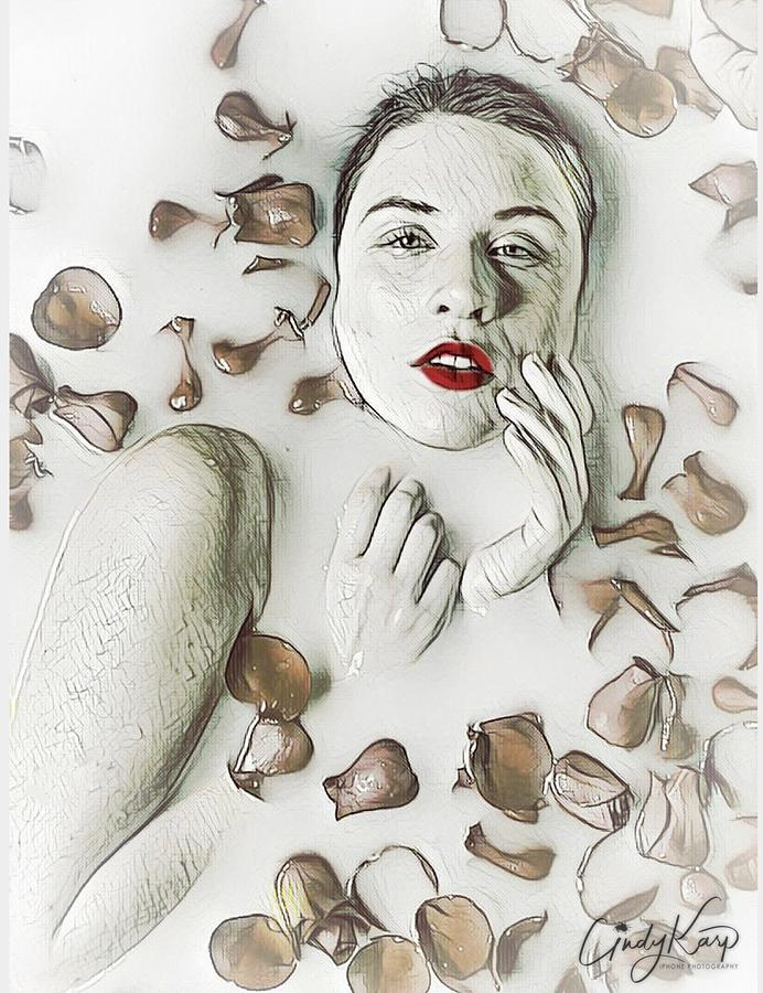 Milk Bath Digital Art By Cindy Karp