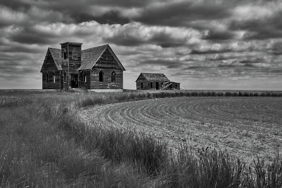 Milk River Valley Church Photograph