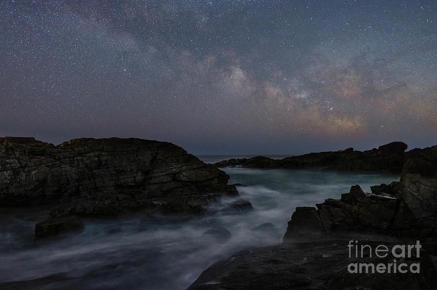 Milky Way At Marginal Way Photograph