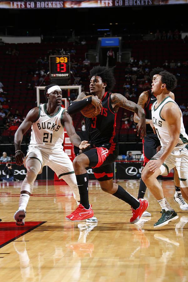 Milwaukee Bucks v Houston Rockets Photograph by Troy Fields